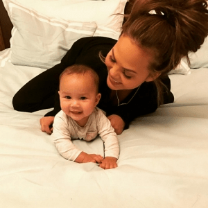 Photo: John Legend & Chrissy Teigen celebrate their daughter as she turns 6 month old